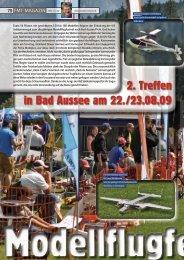 2. Treffen in Bad Aussee am 22./23.08.09