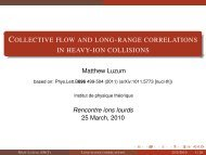 Collective flow and long-range correlations in heavy-ion collisions
