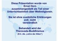 Der Buddhismus - was lehrt er? - Helmutblatt.de