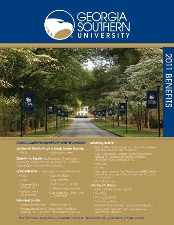 Basic Benefits Paid - Georgia Southern University