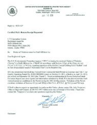 Notice of Violation Issued to Shell Offshore, Inc ... - Earthjustice