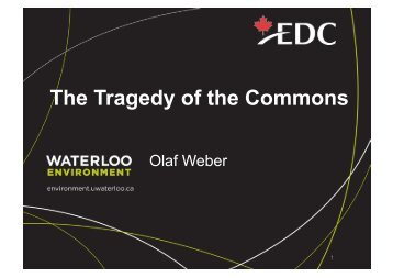 The Tragedy of the Commons - Institute for Social Banking