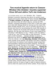 Learn More - Caesars Windsor