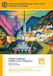 Pediatric Radiology Satellite Course Preliminary Program (PDF)