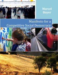 Manifesto for a Competitive Social Democracy - IEDM
