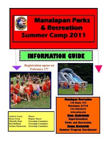 Brochure 2011 - Manalapan Township