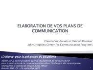 4.Elaboration de vos plans de communication - The Alliance for ...