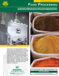 Market Focus Sheet - Food Processing - Camfil Farr APC