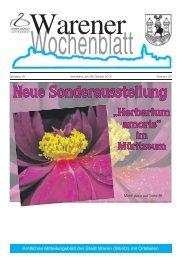 """Neue Sonderausstellung """"Herbarium amoris"""" - Müritz"""