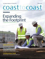 Expanding the Footprint - Skanska
