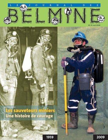 Les sauveteurs miniers Les sauveteurs miniers - CSST