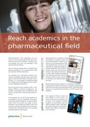 Reach academics in the pharmaceutical field - Pharmadanmark