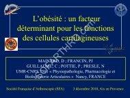 Diapositive 1 - Société française d'arthroscopie