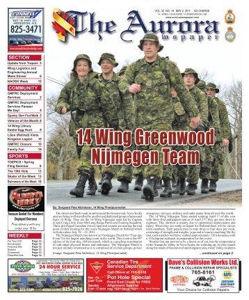 May 2 2011 - The Aurora Newspaper