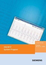 OSCOP P System Program - Siemens
