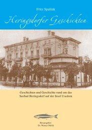 Heringsdorfer Geschichten - Das Strandhotel Heringsdorf