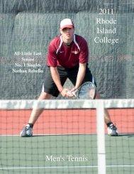 Men's Tennis - Rhode Island College Athletics