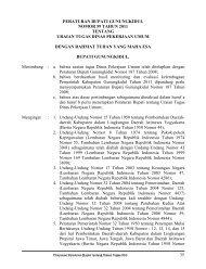 peraturan bupati gunungkidul nomor 59 tahun 2011 tentang