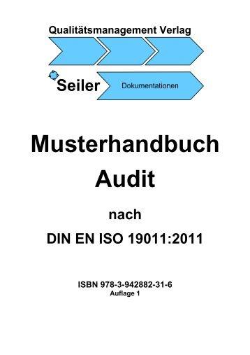 Musterhandbuch Audit
