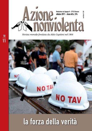 Ottobre 2011 - Movimento Nonviolento