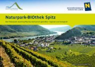 Download als PDF (900 KB) - Naturpark Jauerling | Wachau