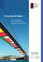 crossing bridges - Learning Wales