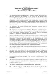 Remuneration and Talent Committee Terms of ... - Antofagasta plc