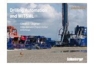 Drilling Automation - WITSML Xx