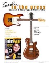 grass - Godin Guitars