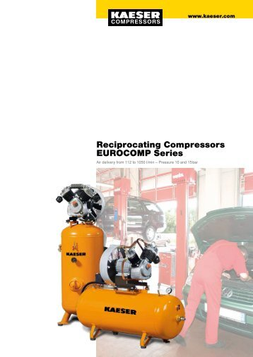 Reciprocating Compressors EUROCOMP Series - KAESER ...