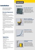 Reciprocating Compressors EUROCOMP Series - KAESER ... - Page 7