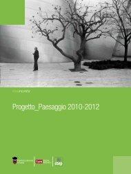 Progetto_Paesaggio 2010-2012 - TSM