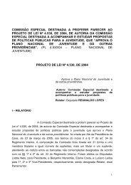 comissão especial destinada a proferir parecer ao projeto de lei nº ...