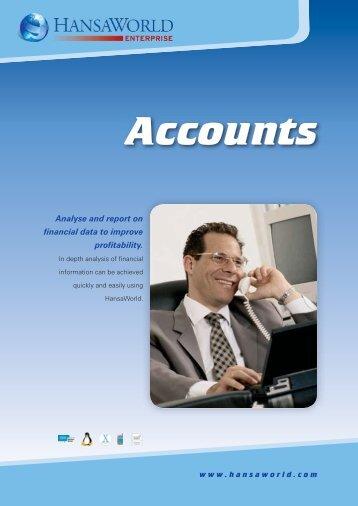 Accounts - HansaWorld