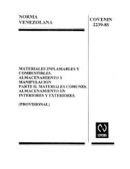 covenin de almacenamiento 2239-2-1985 - Jose Prada