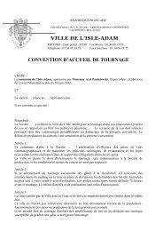Demande d'occupation du domaine public pour le ... - L'Isle-Adam
