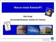 Download Vorlesungsunterlagen (PDF, 1,7MB) - Kinder-Uni Rostock
