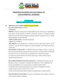 Junho - Prefeitura Municipal de Santa Maria