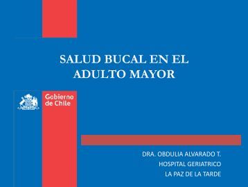 SALUD BUCAL EN EL ADULTO MAYOR