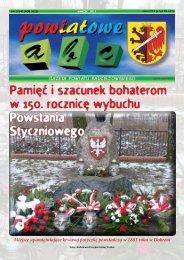 Powiatowe ABC - marzec 2013 - Powiat Radziejowski