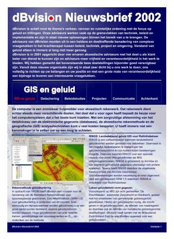Nieuwsbrief 2002 - dbvision.nl