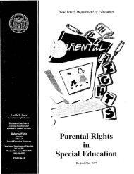 Parental Rights Special Education - Asbury Park School District