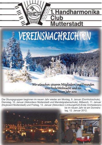 Dezember 2011 27. - 1.Handharmonika-Club Mutterstadt eV ...