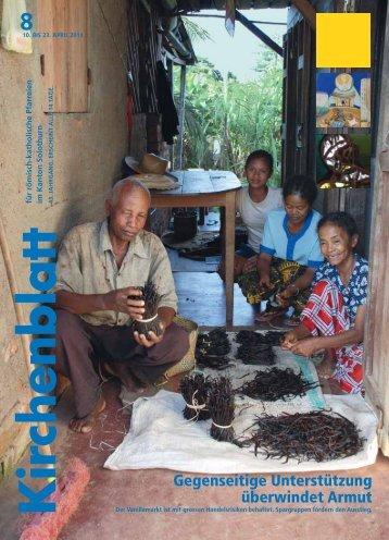 Gegenseitige Unterstützung überwindet Armut - Kirchenblatt
