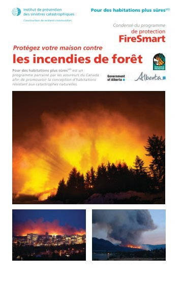 les incendies de forêt - Institute for Catastrophic Loss Reduction