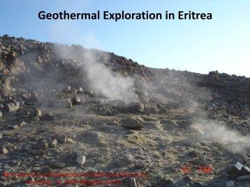 Geothermal Exploration in Eritrea