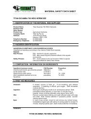 682528 Titan Ag Dicamba 700 WG MSDS - Agsure