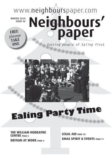 Ealing Party Time - Neighbours Paper