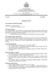 VALSTS VIDES DIENESTA Lēmums Nr.77.3. - Vides pārraudzības ...
