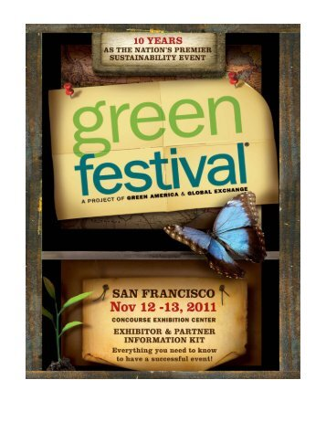 table of contents - Green Festival